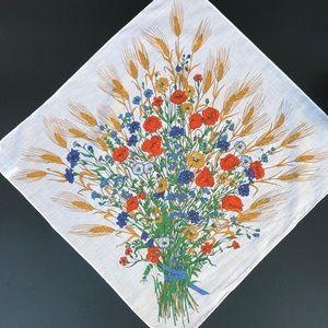 VTG 1970's Gucci Floral Handkerchief Scarf